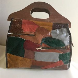 Genuine Leather Bags - Genuine Leather VINTAGE Bag Made in Spain🇪🇸